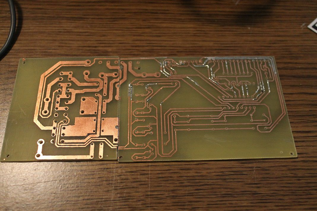 PCB After Drilling