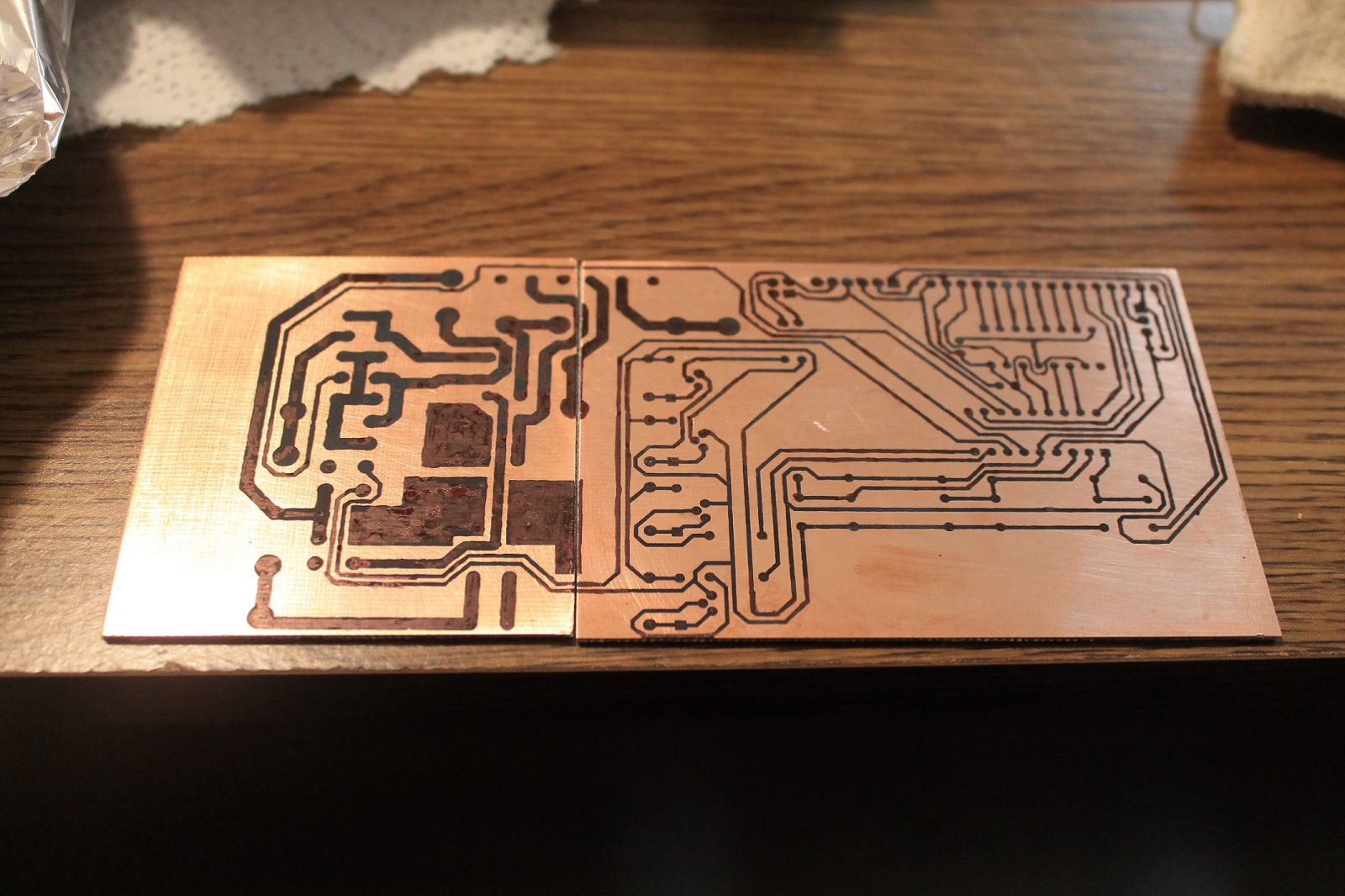 PCB After Fixing Toner