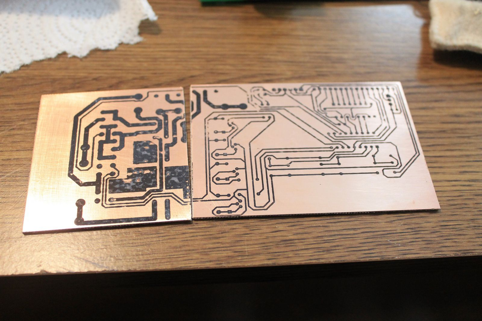 PCB Before Fixing Toner